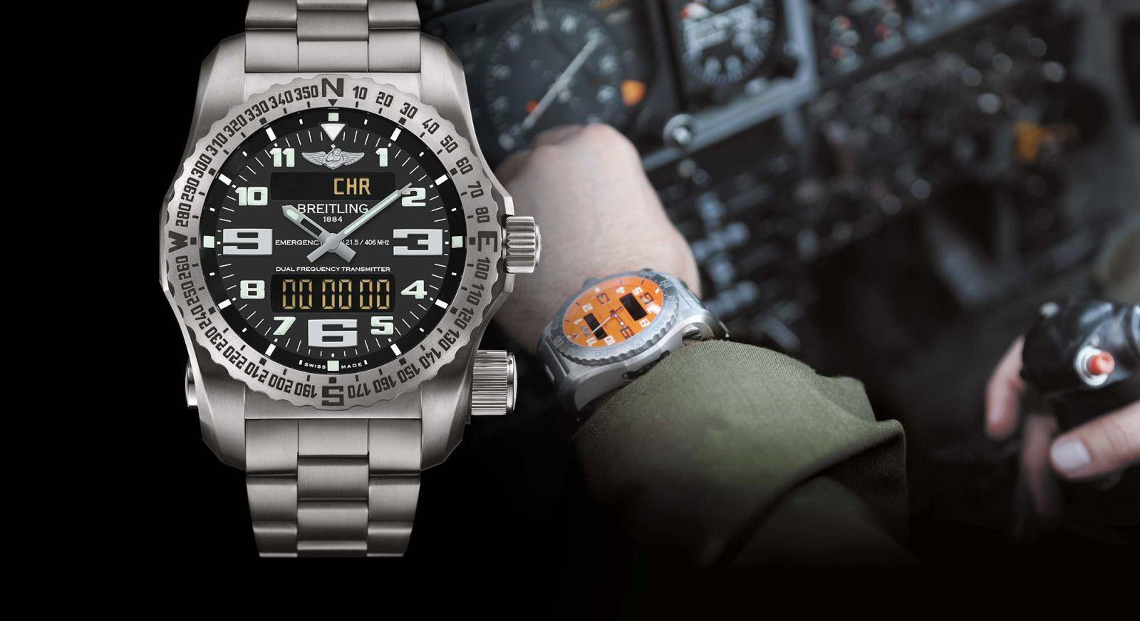 Breitling в очередной раз подтверждает статус главного партнера авиации, представляя новый многофункциональный электронный хронограф, оснащенный мануфактурным калибром с аналоговым и цифровым дисплеями – эксклюзивной разработкой бренда.